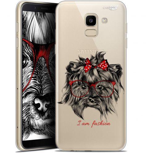 """Coque Gel Samsung Galaxy J6 2018 J600 (5.6"""") Extra Fine Motif -  Fashion Dog"""