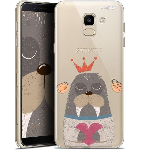 "Coque Gel Samsung Galaxy J6 2018 J600 (5.6"") Extra Fine Motif -  Sketchy Walrus"
