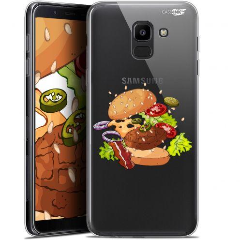 "Coque Gel Samsung Galaxy J6 2018 J600 (5.6"") Extra Fine Motif -  Splash Burger"