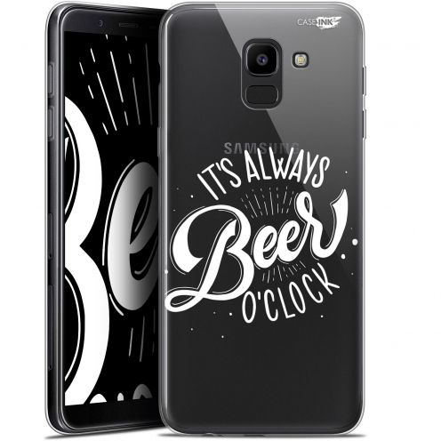 "Coque Gel Samsung Galaxy J6 2018 J600 (5.6"") Extra Fine Motif -  Its Beer O'Clock"