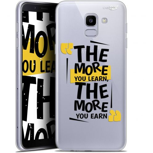 """Coque Gel Samsung Galaxy J6 2018 J600 (5.6"""") Extra Fine Motif -  The More You Learn"""