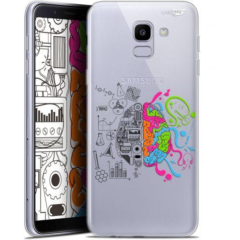 "Coque Gel Samsung Galaxy J6 2018 J600 (5.6"") Extra Fine Motif -  Le Cerveau"