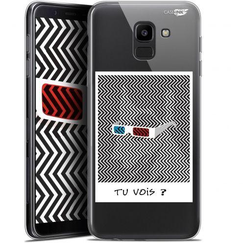 "Coque Gel Samsung Galaxy J6 2018 J600 (5.6"") Extra Fine Motif -  Tu Vois ce que Je Vois ?"