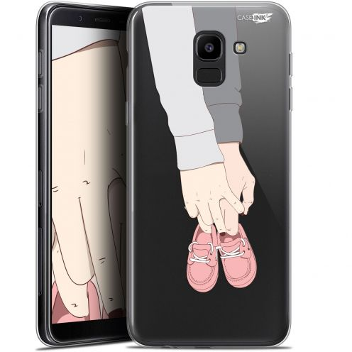 "Coque Gel Samsung Galaxy J6 2018 J600 (5.6"") Extra Fine Motif - A Deux Mon Bébé"