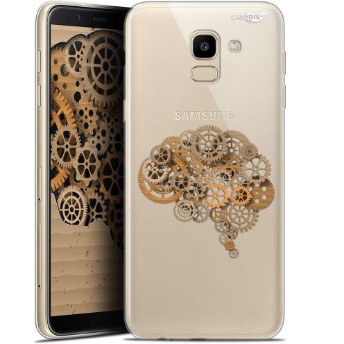 "Coque Gel Samsung Galaxy J6 2018 J600 (5.6"") Extra Fine Motif -  Mécanismes du Cerveau"