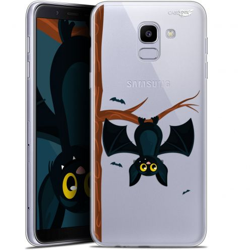 "Coque Gel Samsung Galaxy J6 2018 J600 (5.6"") Extra Fine Motif -  Petite Chauve Souris"