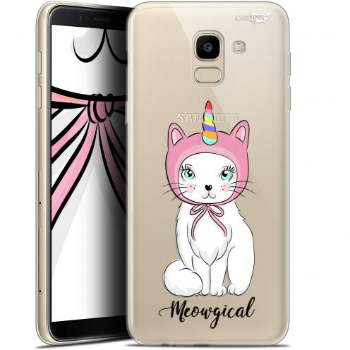 "Coque Gel Samsung Galaxy J6 2018 J600 (5.6"") Extra Fine Motif - Ce Chat Est MEOUgical"