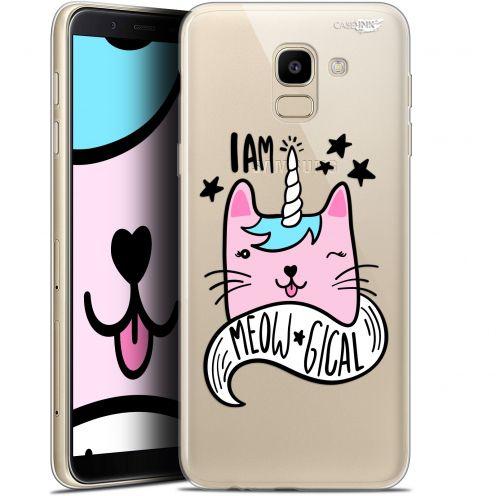 """Coque Gel Samsung Galaxy J6 2018 J600 (5.6"""") Extra Fine Motif -  I Am MEOUgical"""