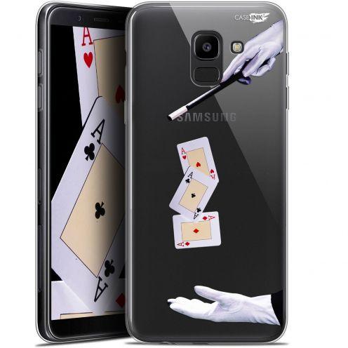 """Coque Gel Samsung Galaxy J6 2018 J600 (5.6"""") Extra Fine Motif -  Cartes Magiques"""