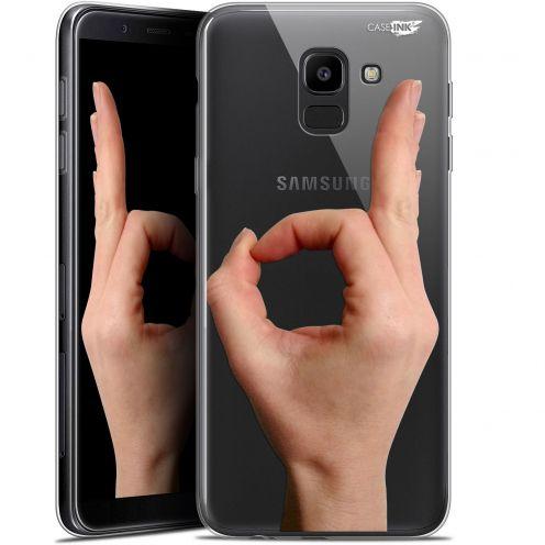 "Coque Gel Samsung Galaxy J6 2018 J600 (5.6"") Extra Fine Motif -  Le Jeu du Rond"