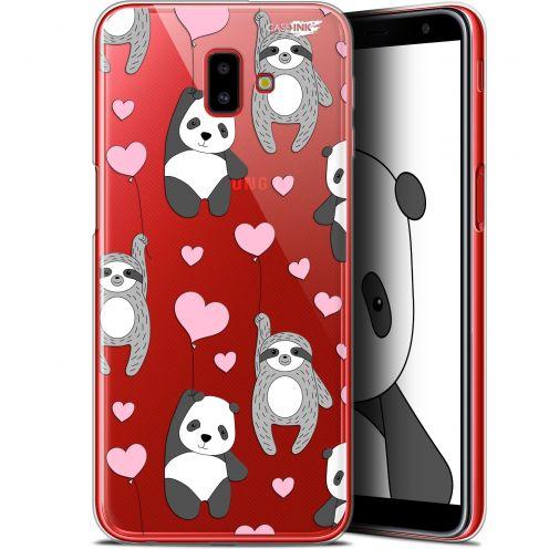 "Coque Gel Samsung Galaxy J6 Plus J6+ (6.4"") Extra Fine Motif - Panda'mour"