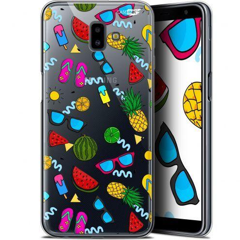 "Coque Gel Samsung Galaxy J6 Plus J6+ (6.4"") Extra Fine Motif -  Summers"