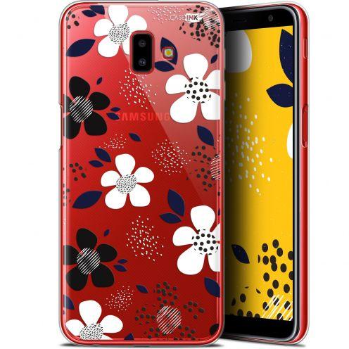 "Coque Gel Samsung Galaxy J6 Plus J6+ (6.4"") Extra Fine Motif - Marimeko Style"