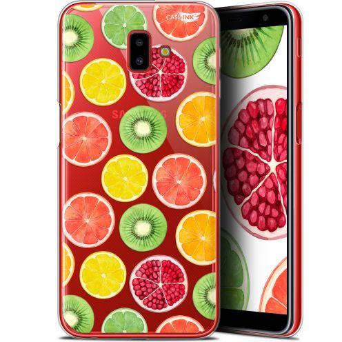 """Coque Gel Samsung Galaxy J6 Plus J6+ (6.4"""") Extra Fine Motif -  Fruity Fresh"""