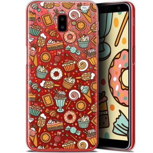 "Coque Gel Samsung Galaxy J6 Plus J6+ (6.4"") Extra Fine Motif - Bonbons"