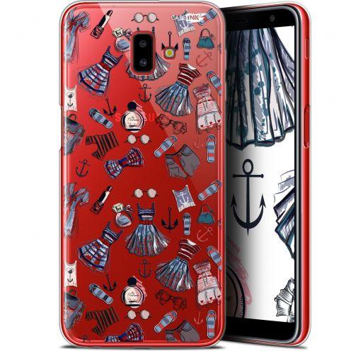 """Coque Gel Samsung Galaxy J6 Plus J6+ (6.4"""") Extra Fine Motif - Fashionista"""