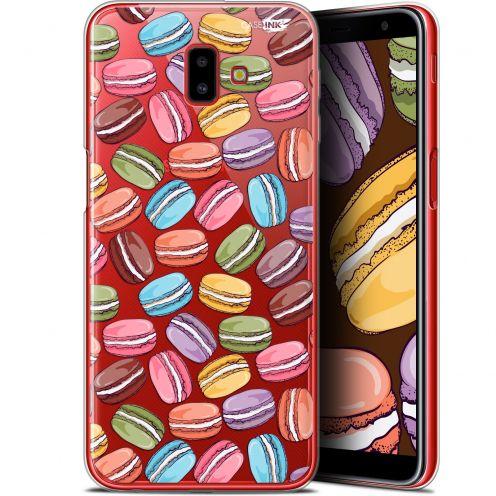 "Coque Gel Samsung Galaxy J6 Plus J6+ (6.4"") Extra Fine Motif -  Macarons"