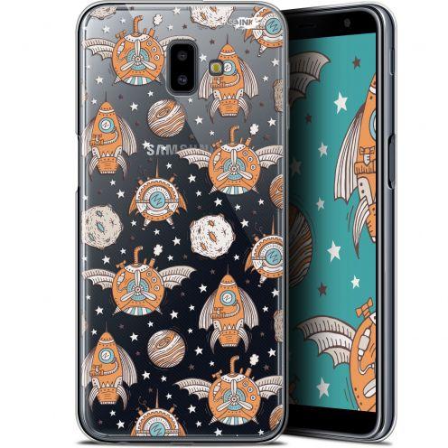 "Coque Gel Samsung Galaxy J6 Plus J6+ (6.4"") Extra Fine Motif -  Punk Space"