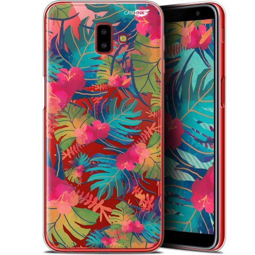 """Coque Gel Samsung Galaxy J6 Plus J6+ (6.4"""") Extra Fine Motif -  Couleurs des Tropiques"""