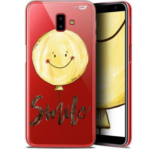 "Coque Gel Samsung Galaxy J6 Plus J6+ (6.4"") Extra Fine Motif -  Smile Baloon"