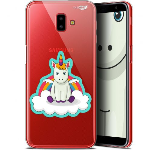 "Coque Gel Samsung Galaxy J6 Plus J6+ (6.4"") Extra Fine Motif -  Bébé Licorne"