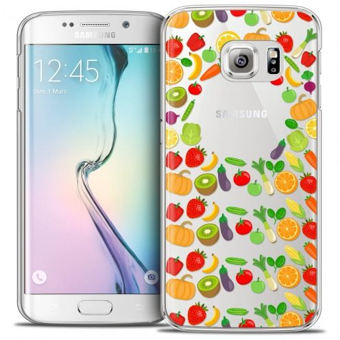 Coque Crystal Galaxy S6 Edge Extra Fine Foodie - Healthy