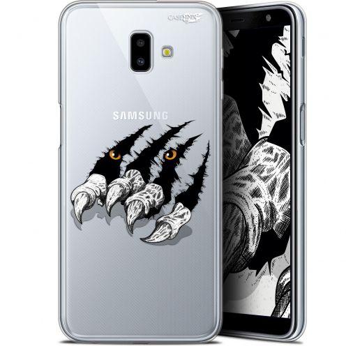 """Coque Gel Samsung Galaxy J6 Plus J6+ (6.4"""") Extra Fine Motif - Les Griffes"""