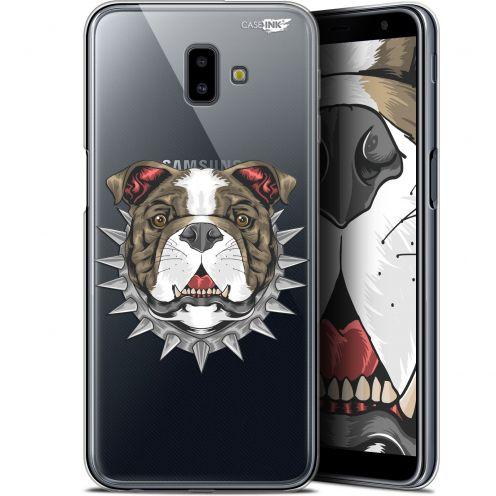 """Coque Gel Samsung Galaxy J6 Plus J6+ (6.4"""") Extra Fine Motif - Doggy"""