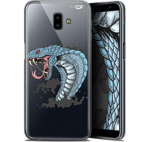 "Coque Gel Samsung Galaxy J6 Plus J6+ (6.4"") Extra Fine Motif -  Cobra Draw"
