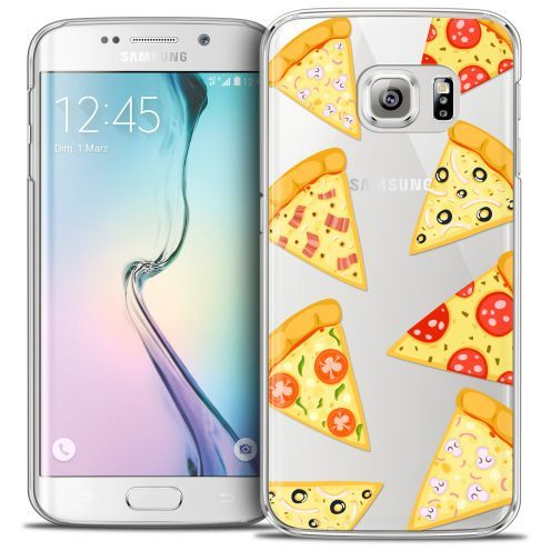 Coque Crystal Galaxy S6 Edge Extra Fine Foodie - Pizza