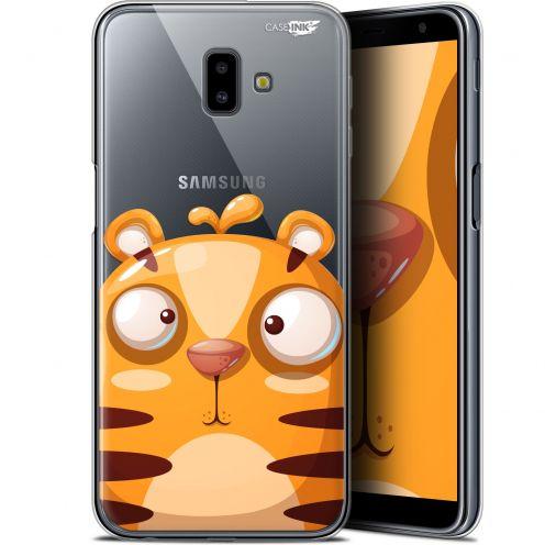 "Coque Gel Samsung Galaxy J6 Plus J6+ (6.4"") Extra Fine Motif -  Cartoon Tiger"