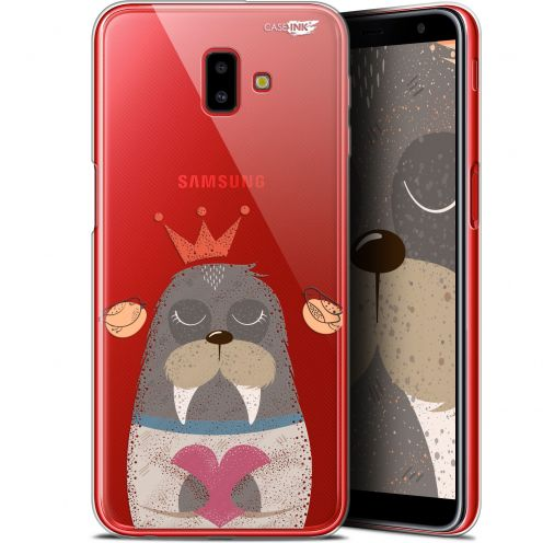 "Coque Gel Samsung Galaxy J6 Plus J6+ (6.4"") Extra Fine Motif -  Sketchy Walrus"