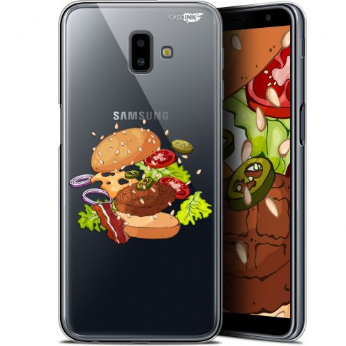 "Coque Gel Samsung Galaxy J6 Plus J6+ (6.4"") Extra Fine Motif - Splash Burger"
