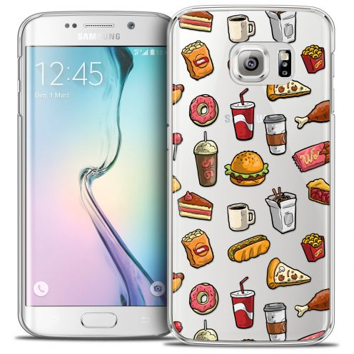Coque Crystal Galaxy S6 Edge Extra Fine Foodie - Fast Food