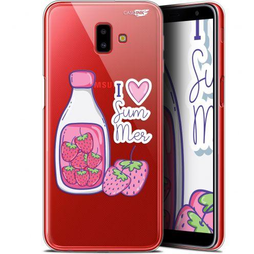 "Coque Gel Samsung Galaxy J6 Plus J6+ (6.4"") Extra Fine Motif -  Milky Summer"
