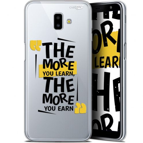 """Coque Gel Samsung Galaxy J6 Plus J6+ (6.4"""") Extra Fine Motif - The More You Learn"""