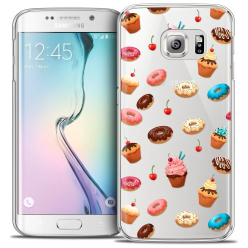 Coque Crystal Galaxy S6 Edge Extra Fine Foodie - Donuts