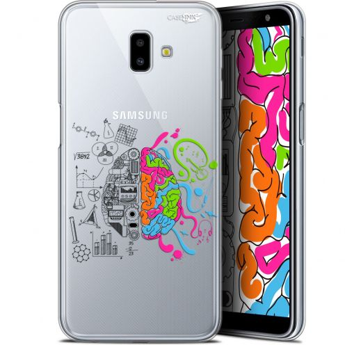 "Coque Gel Samsung Galaxy J6 Plus J6+ (6.4"") Extra Fine Motif -  Le Cerveau"
