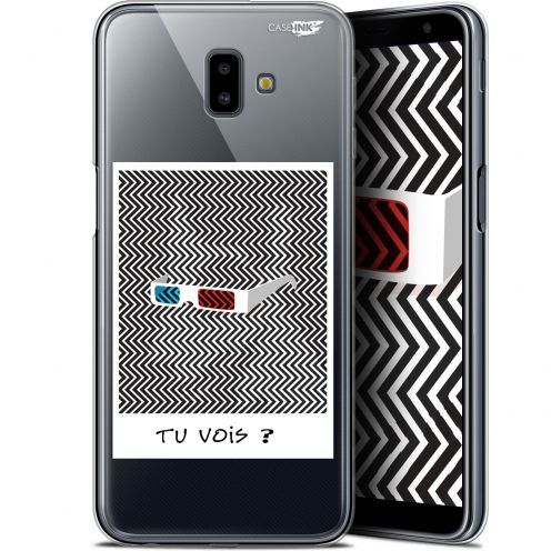 "Coque Gel Samsung Galaxy J6 Plus J6+ (6.4"") Extra Fine Motif - Tu Vois ce que Je Vois ?"