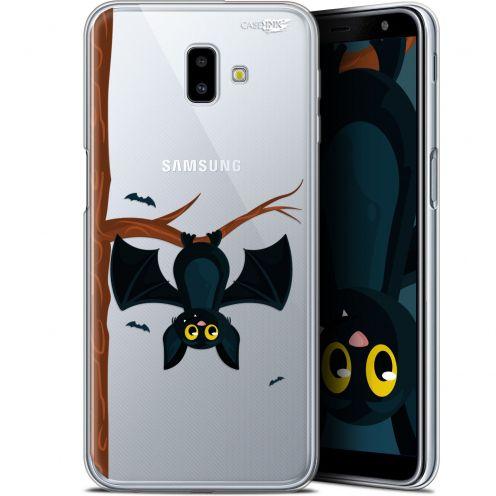 "Coque Gel Samsung Galaxy J6 Plus J6+ (6.4"") Extra Fine Motif -  Petite Chauve Souris"