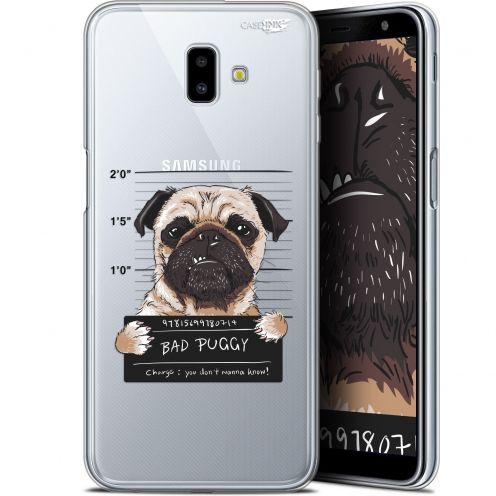 "Coque Gel Samsung Galaxy J6 Plus J6+ (6.4"") Extra Fine Motif -  Beware The Puggy Dog"