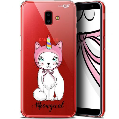 "Coque Gel Samsung Galaxy J6 Plus J6+ (6.4"") Extra Fine Motif - Ce Chat Est MEOUgical"