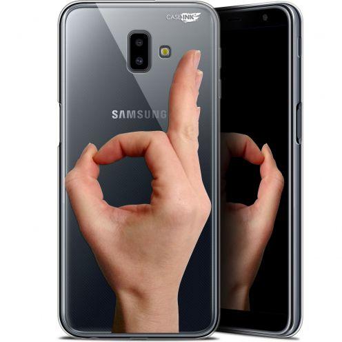 """Coque Gel Samsung Galaxy J6 Plus J6+ (6.4"""") Extra Fine Motif -  Le Jeu du Rond"""