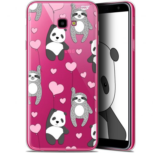 "Coque Gel Samsung Galaxy J4 Plus J4+ (6"") Extra Fine Motif -  Panda'mour"