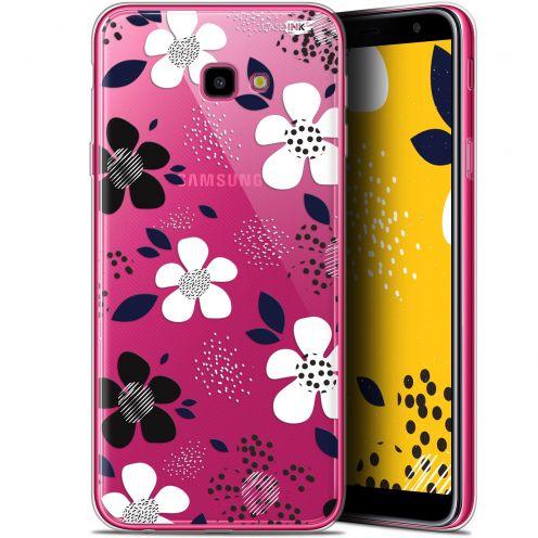 "Coque Gel Samsung Galaxy J4 Plus J4+ (6"") Extra Fine Motif -  Marimeko Style"