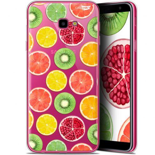 """Coque Gel Samsung Galaxy J4 Plus J4+ (6"""") Extra Fine Motif -  Fruity Fresh"""
