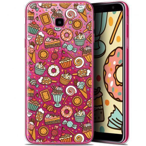 "Coque Gel Samsung Galaxy J4 Plus J4+ (6"") Extra Fine Motif -  Bonbons"