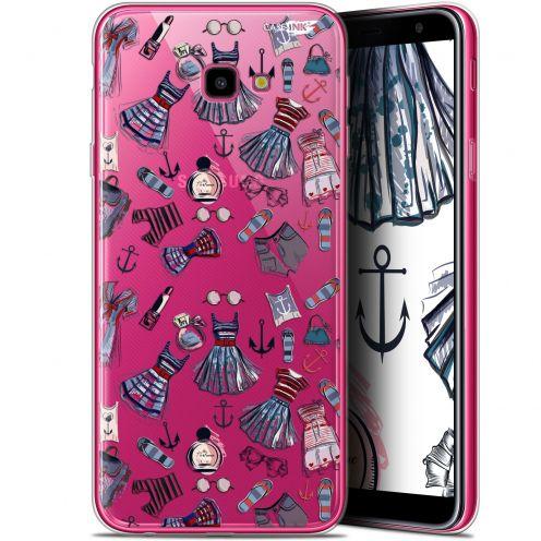 """Coque Gel Samsung Galaxy J4 Plus J4+ (6"""") Extra Fine Motif -  Fashionista"""