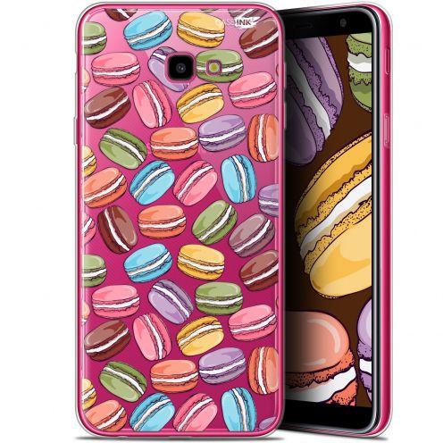 "Coque Gel Samsung Galaxy J4 Plus J4+ (6"") Extra Fine Motif -  Macarons"