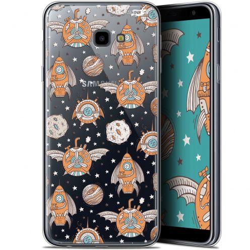 "Coque Gel Samsung Galaxy J4 Plus J4+ (6"") Extra Fine Motif -  Punk Space"
